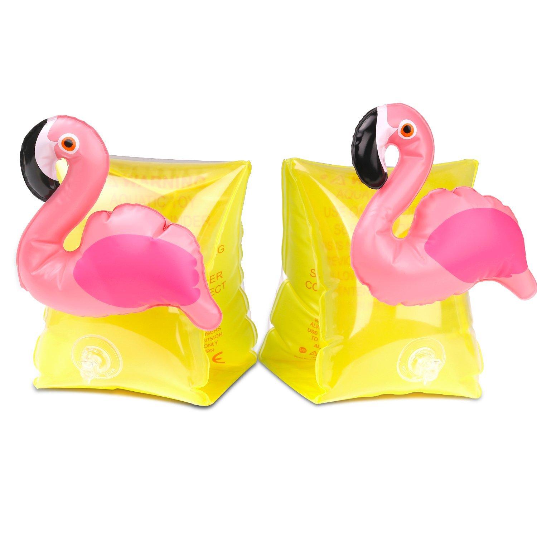 10-14新券新款菠萝婴儿充气座圈火烈鸟手臂圈