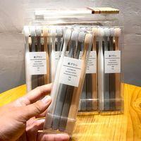 查看日本MUJI无印良品牙刷四支装极简软毛小头男女通用便携式旅行套装价格