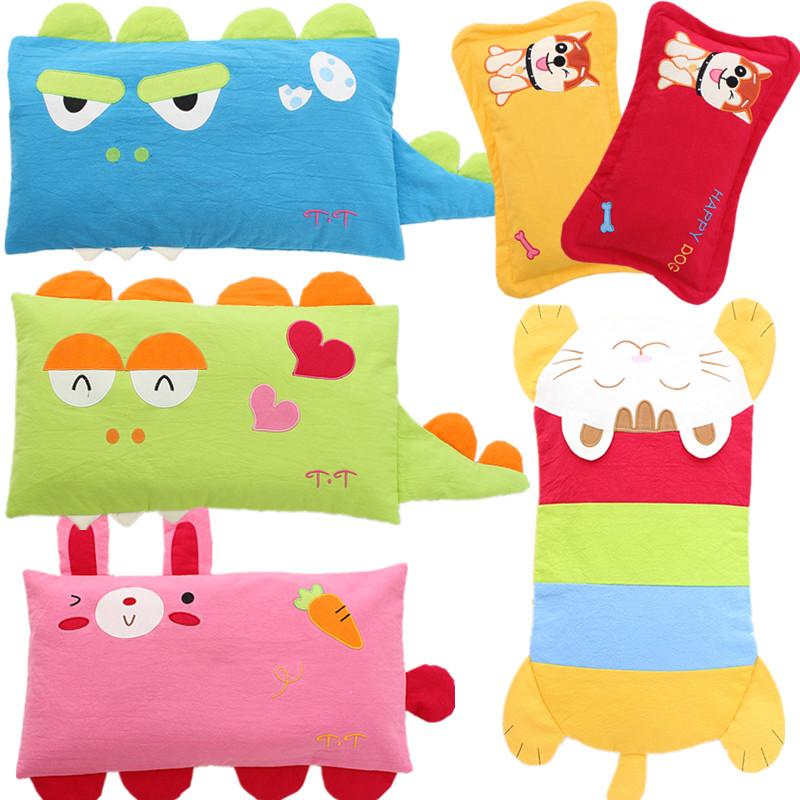 儿童枕头0-1-3-6岁纯棉婴儿荞麦枕定型枕幼儿园宝宝枕头夏季透气