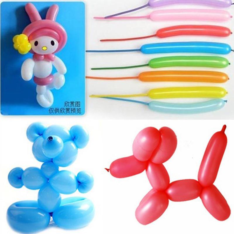 加厚魔术长条气球批发多款儿童生日派对幼儿园卡通装饰布置主题