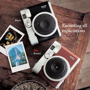 富士立拍立得mini90相机 一次成像立拍得instax mini90复古照相机