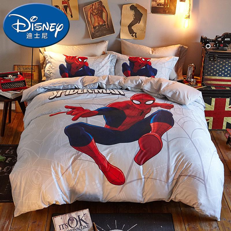 Южный полюс человек X disney хлопок мультики детская кроватка статья 1.5 кровать один 1.8m одеяло хлопок четыре части
