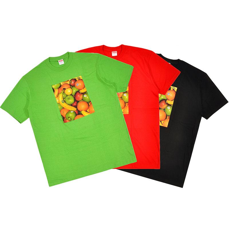 Supreme香蕉水果纯棉短袖T恤 19SS Fruit Tee 小logo夏季男女潮流