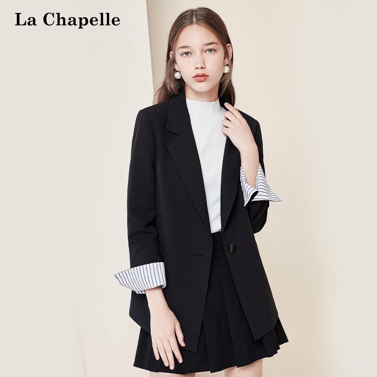 Rashabel Blazer thin 2020 new spring Korean women's loose casual suit top