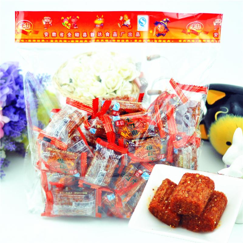 宇仔大刀肉辣条8090后怀旧儿时零食大礼包湖南重庆特产麻辣素食片