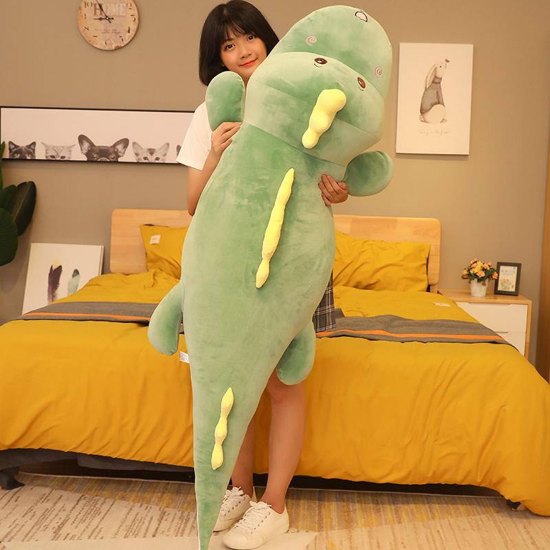 可爱恐龙毛绒玩具小公仔玩偶布娃娃大号抱枕陪你睡觉床上男女生款限8000张券