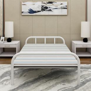 折叠床家用办公室便携单人加固成人午睡午休简易双人隐形钢丝行军