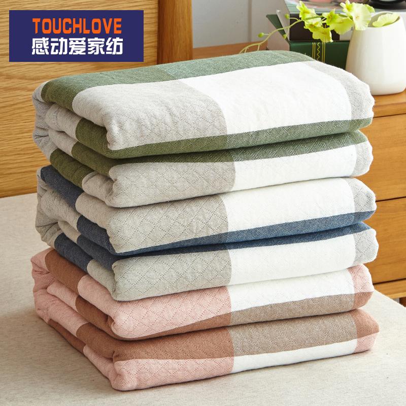 日式純棉床單單件加厚全棉被單單人雙人床宿舍學生老粗布厚款單子