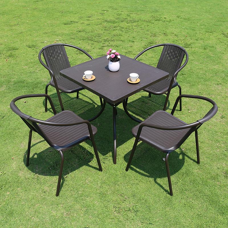 阳台桌椅休闲藤椅茶几咖啡客厅室外家具藤编椅子户外三五件套组合