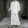 Summer Hanfu Men's Ancient Style Suit Chinese Style Buddhist Monk Zen Clothing Linen Tang Costume Fairy Loose Costume Buddhist Men's Wear