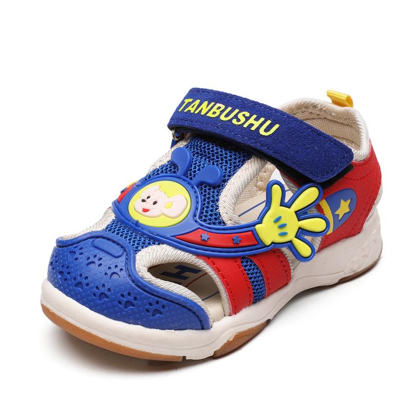 兒童機能鞋涼鞋 男童童鞋女童軟底涼鞋防滑透氣寶寶鞋學步鞋