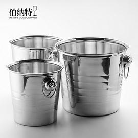 加厚不锈钢虎头冰桶KTV酒吧会所香槟桶红酒冰桶大号酒桶冰块桶