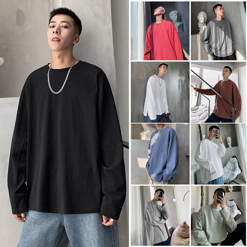 Men's T-shirt with thin sleeves