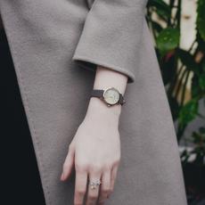 聚利时手表女学生简约ins风防水小表盘小巧气质细带女士韩版女表