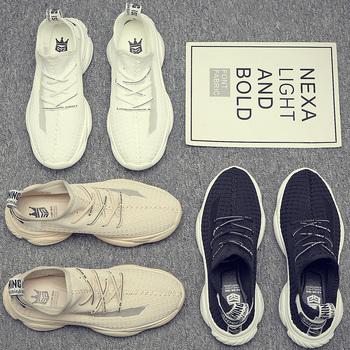 夏季透气小白运动休闲帆布鞋子男鞋