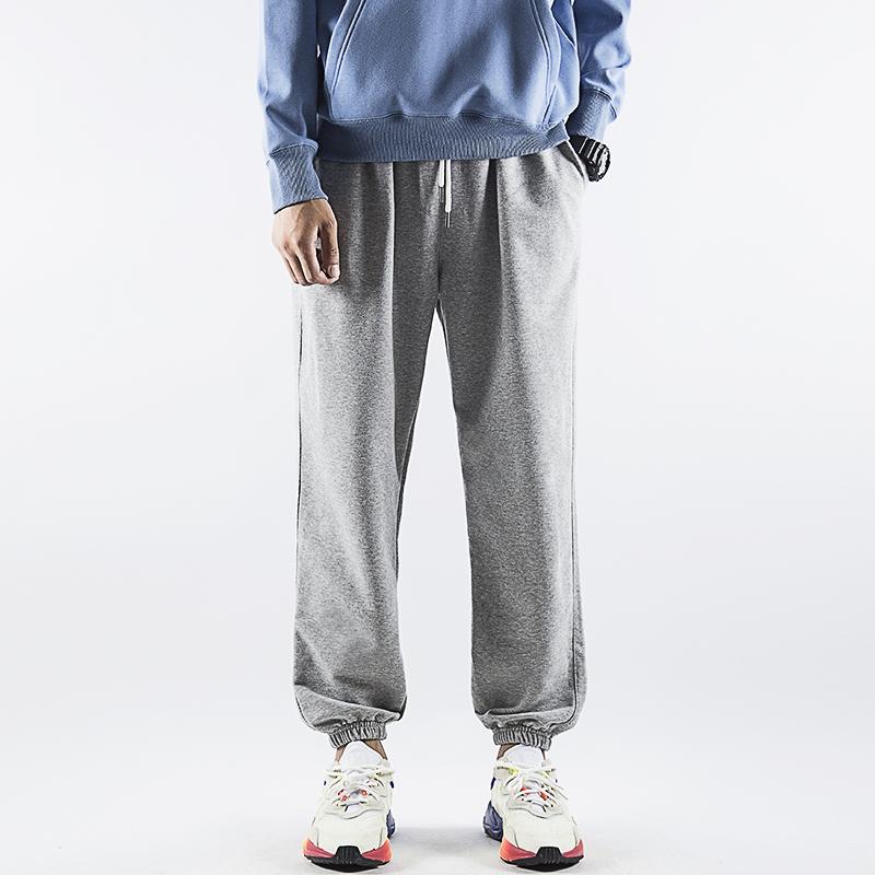 男士篮球束脚裤宽松大码灰色哈伦裤98.00元包邮