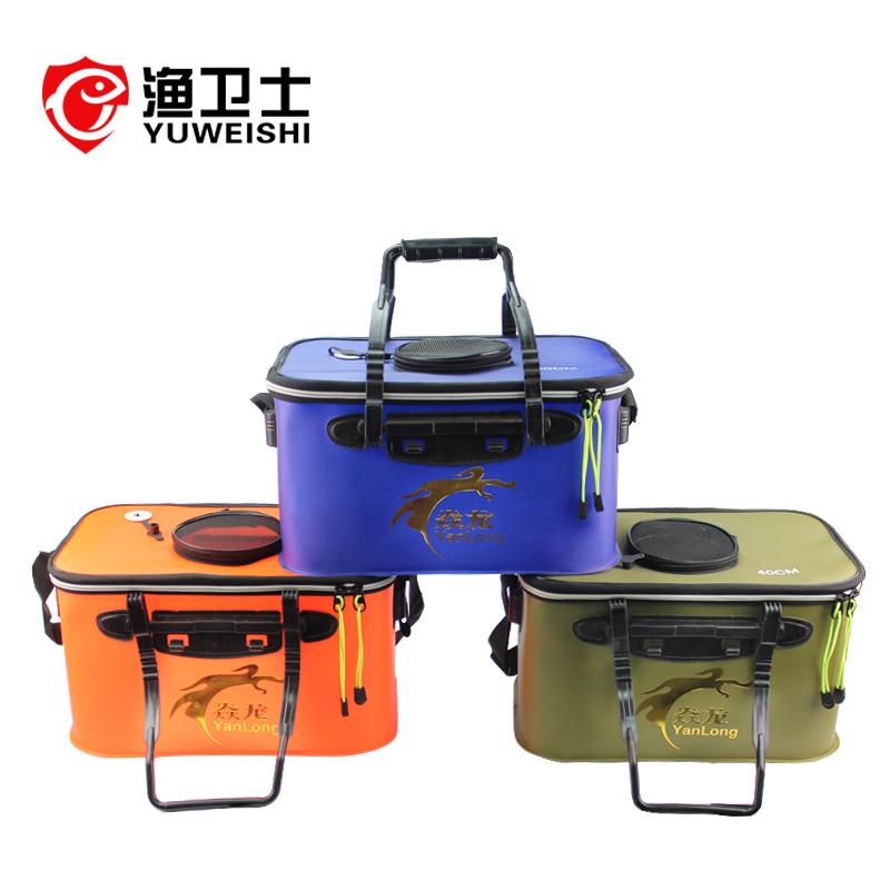 活魚桶eva水桶加厚活魚桶折疊活魚桶一體活魚桶活魚箱釣魚箱漁具