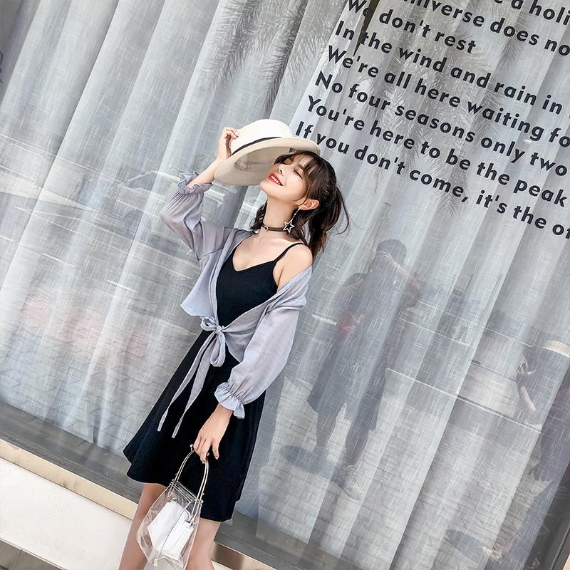 大码女装胖mm2018夏装新款胖妹妹洋气外套罩衫显瘦减龄防晒开衫潮