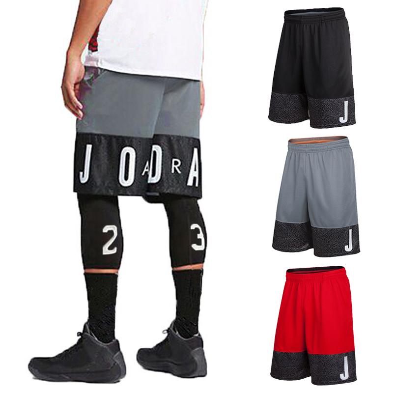 满50元可用5元优惠券AJ23号球星篮球裤男运动中短裤宽松过膝速干五分裤透气跑步训练裤
