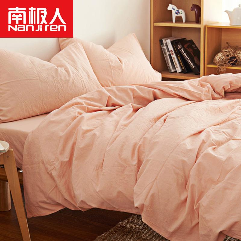 纯色床上四件套 1.8m床冬季纯棉加厚床单三件套 1.5m床上用品全棉券后185.00元