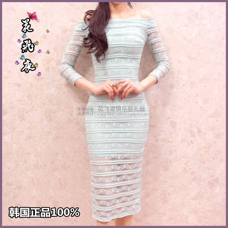 【花飞夜】韩国进口女装2018夏款连衣裙韩版修身洋装裙短礼裙RE38