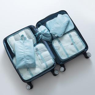 出差旅行用品行李箱防水收纳袋化妆包男旅游洗漱包女便携套装