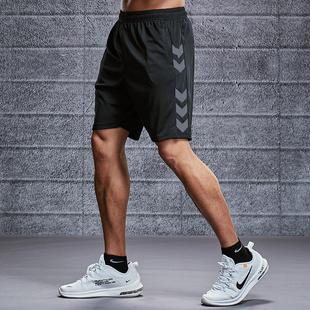 运动短裤男跑步健身速干潮休闲五分女夏季宽松训练中裤沙滩篮球裤品牌