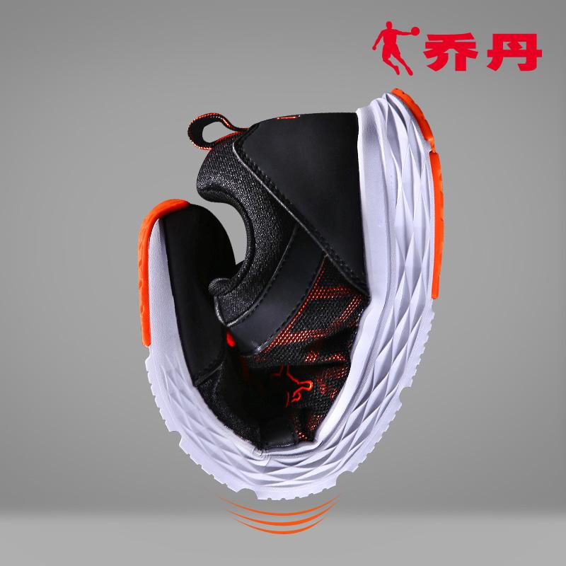 乔丹男鞋跑步鞋夏季新款运动鞋凌动减震轻便网面透气易弯曲跑鞋男