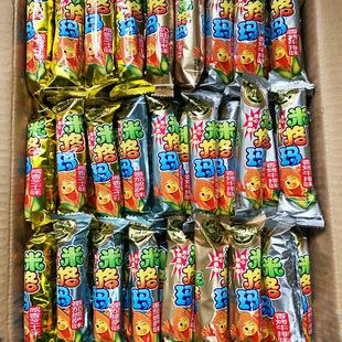 徐福记米格玛多种口味糙米卷夹心米果棒500g饼干小吃休闲食品零食