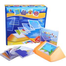 小乖蛋五颜六色益智玩具拼图儿童逻辑思维训练3-6-8岁以上女男孩图片
