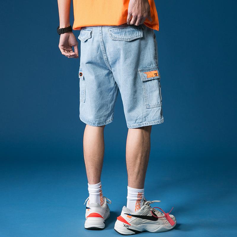 男士短裤夏季宽松休闲七分