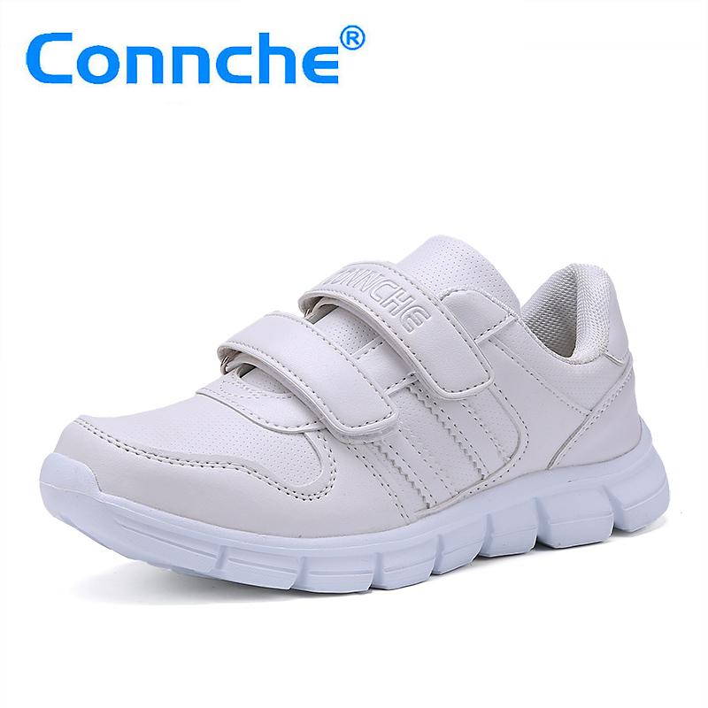 2016春秋款女童小白鞋兒童白色 鞋男童白球鞋波鞋學生板鞋