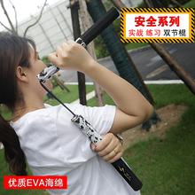 银焰少儿海绵双绳双节棍安全初学训练表演二节棍李小龙泡棉双截棍
