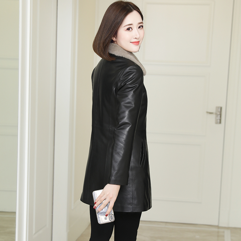 Fur-in-one mink liner Haining fur coat jacket new autumn and winter jacket