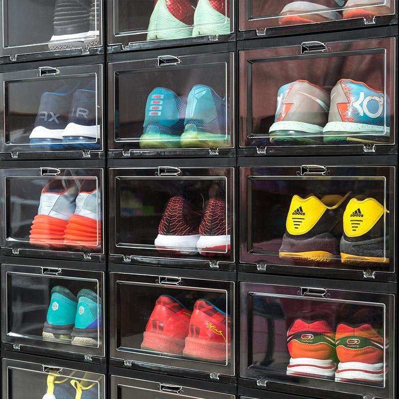纳美嘉aj亚克力收盒透明篮球鞋鞋盒券后37.50元