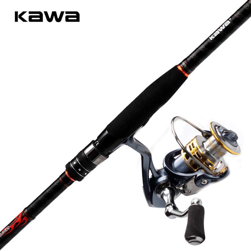 KAWA便携伸缩路亚竿碳素超轻直柄多功能竿M调矶钓海钓竿路亚套装,可领取10元天猫优惠券