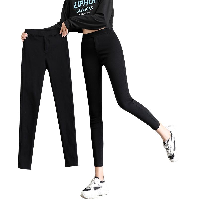 春秋外穿矮个子八分九分小脚打底裤质量好不好