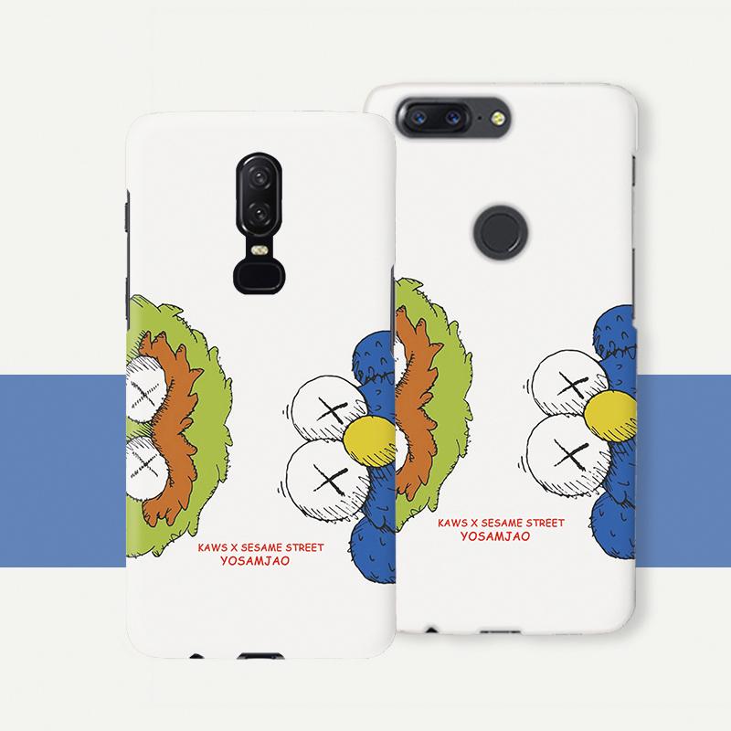 一加6手机壳硬壳1+5t个性创意1+3t磨砂男女一加5oneplus6潮卡通