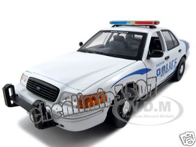 Us agent purchase of car model Vancouver Police Ford Victoria crown police car 1:18