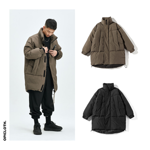 OPICLOTH/OPIC 19AW 立领灰鸭羽绒大衣 轻盈蓬松 / MONSTER PARKA