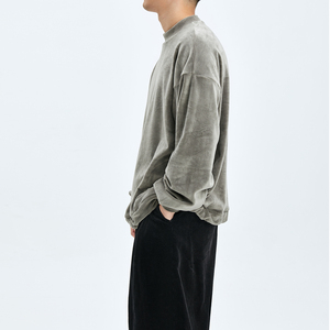 OPICLOTH/OPIC 19AW 水貂绒圆领卫衣 丝绒