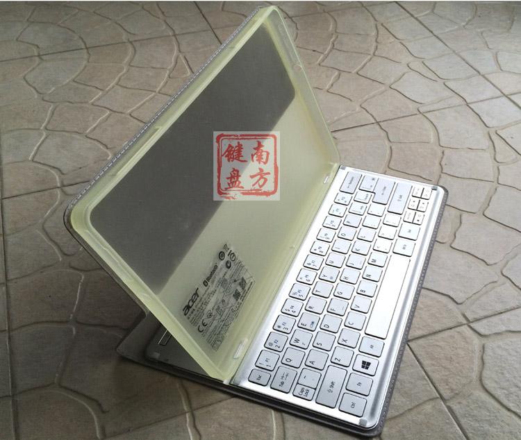 華碩宏基KT1252蘋果ipad小米華為手機平板台式無線薄藍牙W700鍵盤
