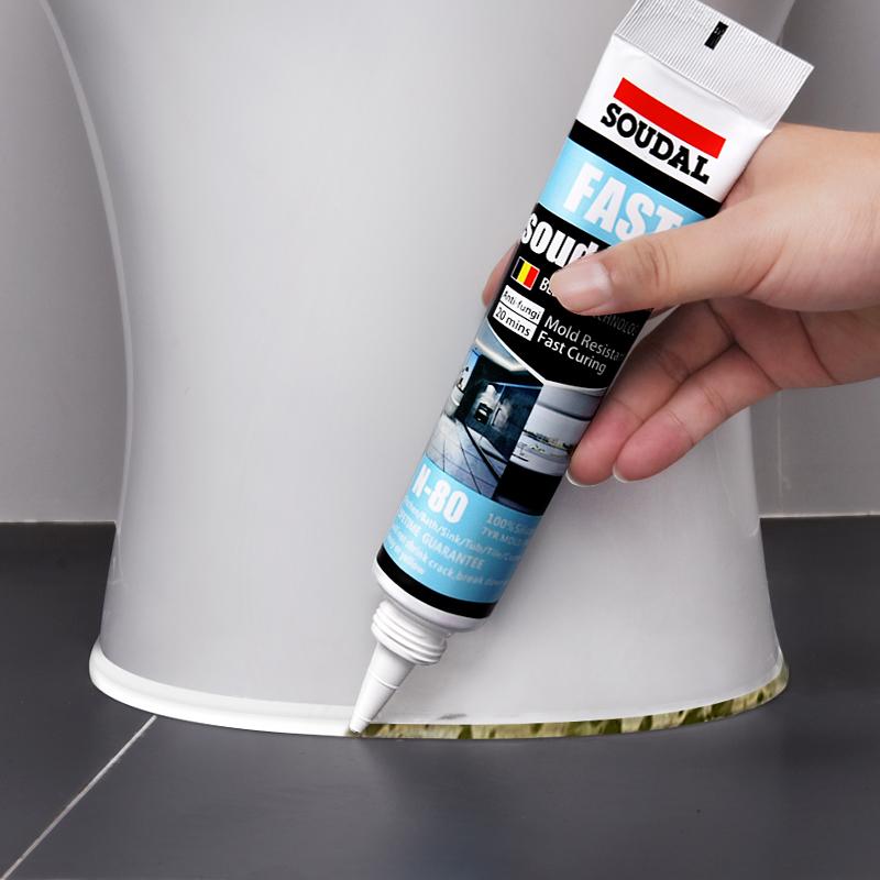 水槽美缝剂厨房浴室家用补缝防水防霉马桶底座填缝剂防漏水玻璃胶