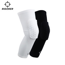 Qualified Basketball Honeycomb Anti-collision Knee Protector Male Professional Thin Meniscus Extended Leg Protector for Women Sports Equipment