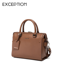 Exclusive exclusive exclusive counter genuine leather women's bag top layer leather handbag doctor's Bag Shoulder Messenger Bag