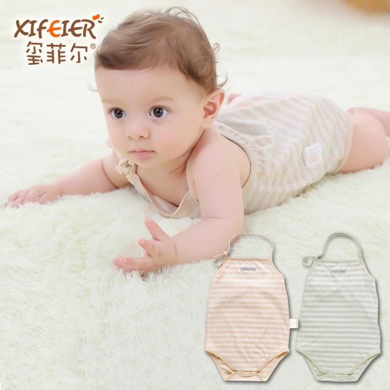 婴儿肚兜婴幼儿纯棉连腿肚兜夏季宝宝肚兜新生儿0-3个月纯棉肚兜