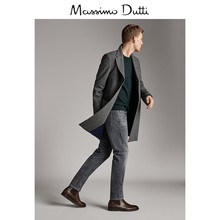 Show the same Massimo dutti men's shoes brown Chelsea Leather Elastic short boots all in fashion boots 16002022700