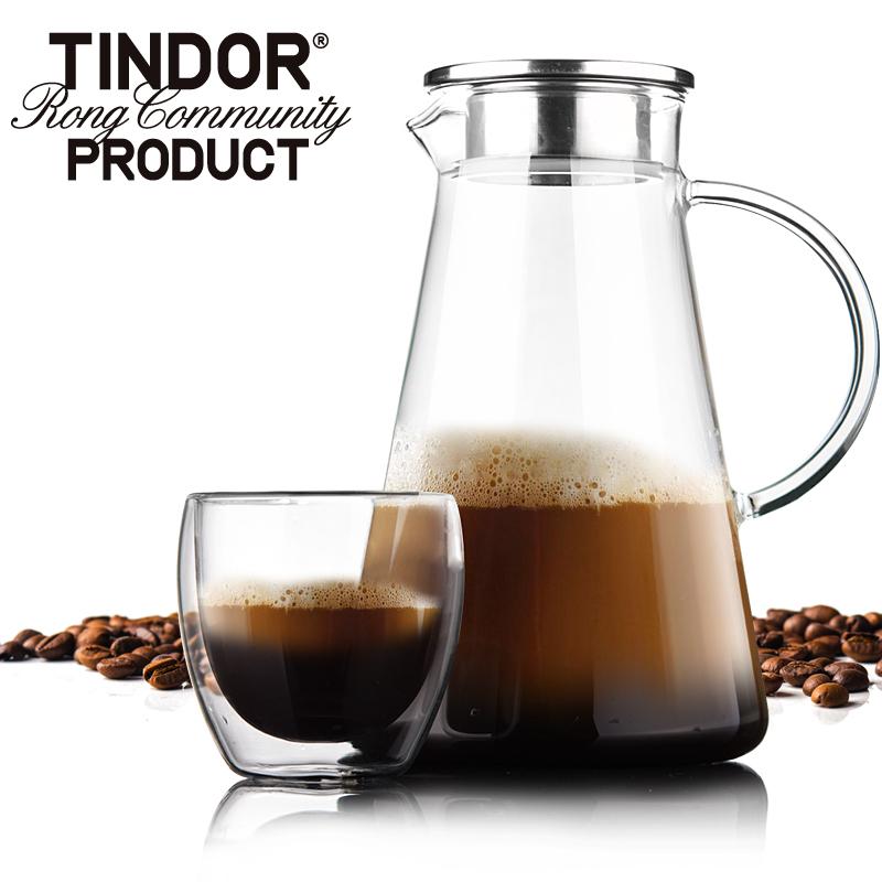 田代 tindor Nova 耐熱玻璃水壺冷水壺涼水壺涼水杯水具套裝 2升