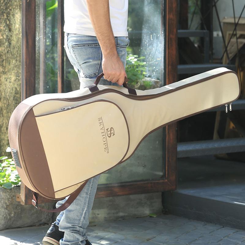 Гитара пакет 41 дюйм утепленный Плечи назад пакет водонепроницаемый Общий 40 39 38 Студенческая народная музыка пакет Индивидуальность упаковки