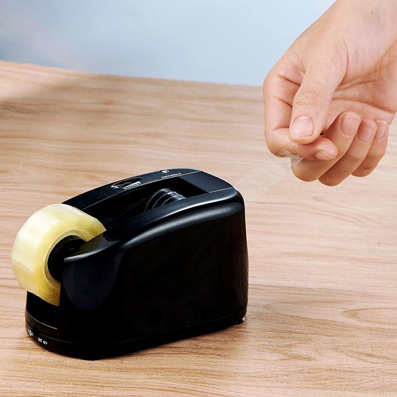 永燊电动胶带切割机透明打包胶带切割器小号胶带座全自动胶纸机办公文具用品包邮,可领取10元天猫优惠券